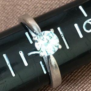 Platinum Moissanite ring 7
